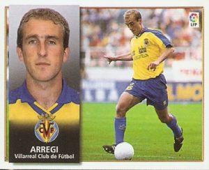 Aitor Arregi, en tiempos del Villarreal.