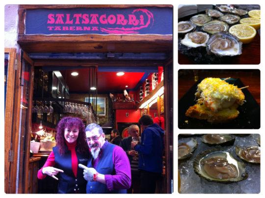 Saltsagorri, taberna de referencia en el Casco Viejo de Bilbao (foto: Cuchillo)