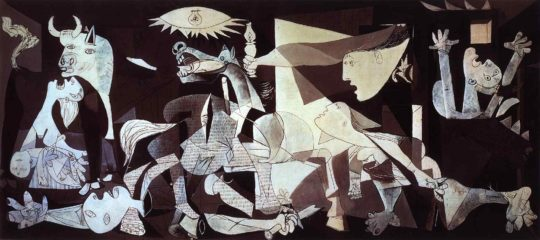El inmortal 'Guernica' de Pablo Picasso, inspirado en bombardeo de la localidad vizcaína.