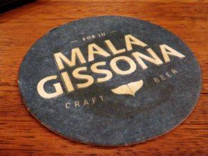 Posavasos de Mala Gissona (foto: Cuchillo)