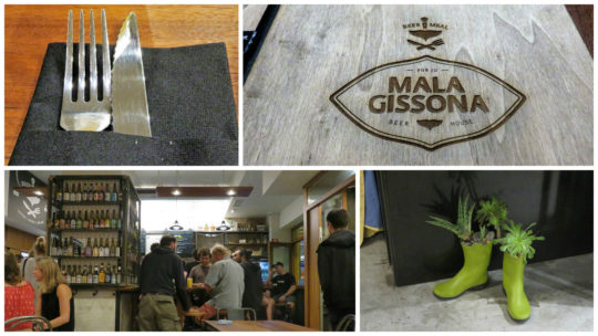 Un jueves de agosto cualquiera en Mala Gissona Beer House (fotos: Cuchillo)