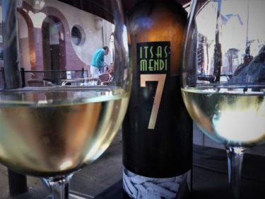 Itsasmendi 7, gran vino en Gure Etxea taberna (foto: Cuchillo)