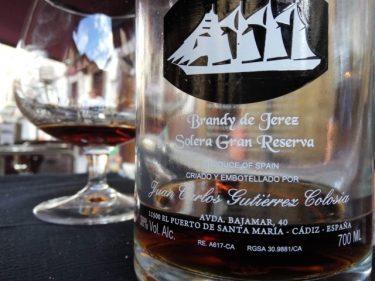 Brandy de El Puerto de Santa María, en taberna Gure Etxea (foto: Cuchillo)