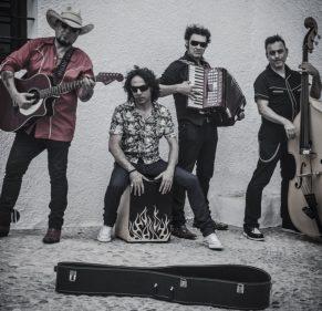 Imagen promocional de Los Rebeldes.