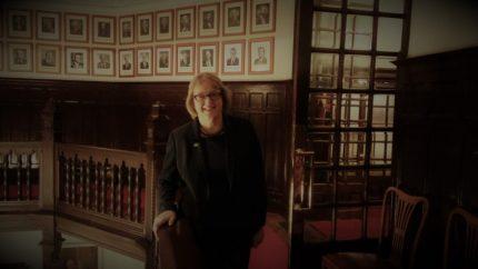Sarah Jane Evans posa en La Sociedad Bilbaína (foto: Cuchillo)