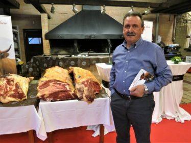 José Manuel Suárez, responsable de Ganadería Cabrero (foto: Cuchillo)