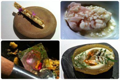 Platos así se comen en Mugaritz (fotos: Cuchillo)