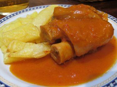 Manita de cerdo a la jumillana, en Bodega Antonio Romero (foto: Cuchillo)