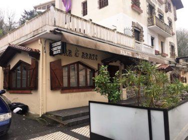 Fachada del asador Aratz, en Donostia (foto: Cuchillo)