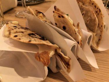 Quesadillas de setas de temporada en Topa sukaldería (foto: Cuchillo)