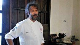 Luismi López, cocinero de Arrieros (foto: Cuchillo)