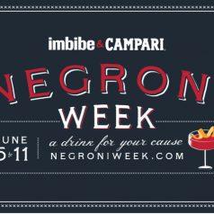 Negroni Week. Un cóctel por una buena causa