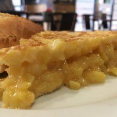 Pista: la tortilla de patata de Cafetería Europa (Gijón)