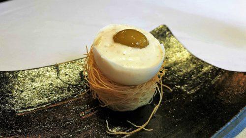 Falso huevo en Boroa (foto: Cuchillo)