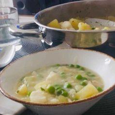 Patatas en salsa verde, por Joseba Irusta (Recetas para una cuarentena #10.)