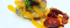 Chicharro marinado en aceite de hierbas provenzales, por Gerardo Maza (Recetas para una cuarentena #43)