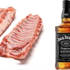 Costillas al Jack Daniel's, por Johnny Cifuentes (Recetas para una cuarentena #26)