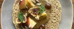 Creps de trigo sarraceno, por Ismael Iglesias (Recetas para una cuarentena #65)