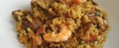 Paella maketa, por Iñigo Romera (Recetas para una cuarentena #45)