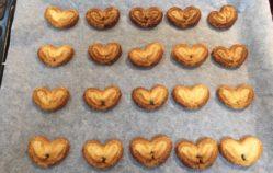 Palmeritas de hojaldre, por Uve (Recetas para una cuarentena #34)