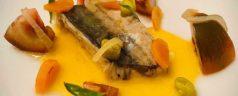 Caballa en escabeche de calabaza y zanahoria, por Javier Alonso (Recetas para una desescalada #89)