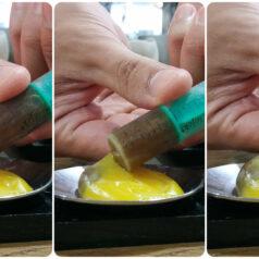 Los huevos de Eneko Atxa