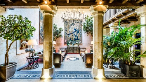 Hall del Grand Hotel Don Gregorio.