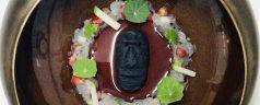 Receta: Moai, el tartar de gamba blanca de Jon Gil