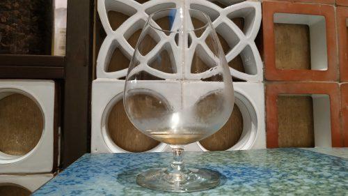 Vodka trufado, en Disfrutar (foto: Cuchillo)