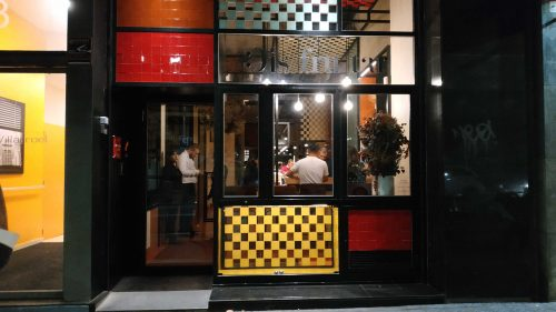 Fachada del restaurante Disfrutar (foto: Cuchillo)