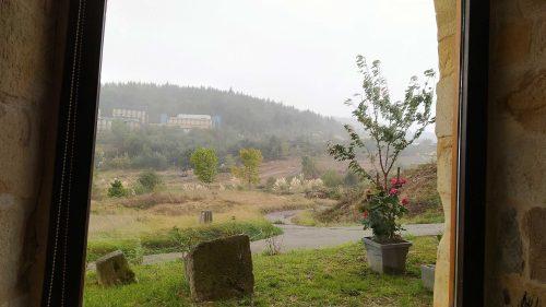 El campo de golf abandonado junto a Horma Ondo (foto: Cuchillo)