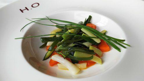 Verduras a la brasa, temporada en Horma Ondo (foto: Cuchillo)