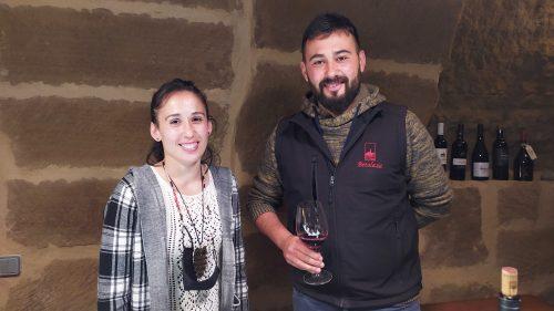 Clara y Francisco Ibaibarriaga, tercera generación de Betolaza (foto: Cuchillo)