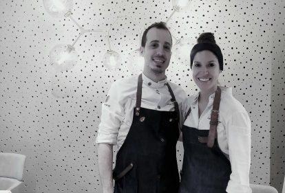 Iñaki Murua y Carolina Sánchez, cuerpo y alma de Ikaro (foto: Cuchillo)