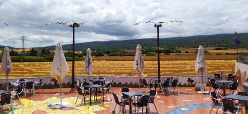 Terraza de Borda Berri, antes de la maripajuela (foto: Cuchillo)