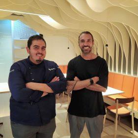 Rodrigo Nieto e Iker Colino en Ssua (foto: Cuchillo)